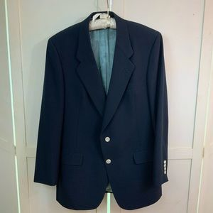 Christian Dior Paris Navy Blazer